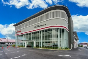 The new Toyota 2S Centre operated by PS Otomobil in Pandamaran, Klang