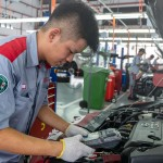 The Toyota 2S centre is manned by trained personnel equipped with the latest diagnostic tools