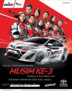 TGR Season 3_Toyota Gazoo Racing_Vios Challenge_Promotional Class_Celebrities_Malaysia_2019