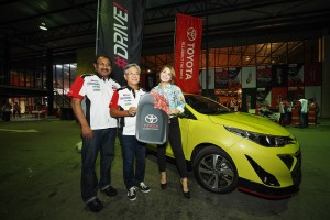 UMW Toyota Motor_Toyota Yaris_Ravindran K_Akio Takeyama_Janna Nick_TGR Festival_Malaysia