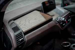 The First-Ever BMW i3s_Eucalyptus Wood Panel