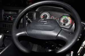 Hino 700 Series_Prime Mover_Cockpit_Steering Wheel_Malaysia