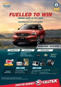 Caltex with Techron_Fuelled To Win_Contest_Malaysia_2019