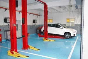 Mitsubishi Motors Malaysia_Service Bay_Service Centre