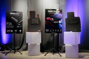 Trapo car mats on display