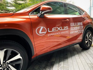 Lexus NX display at Platinum Park, KL_KL Fashion Week 2019_Malaysia
