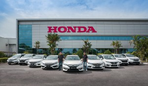 9 Honda Cars to be given away, absolutely free in the Road to 900,000th Unit Milestone Campaign