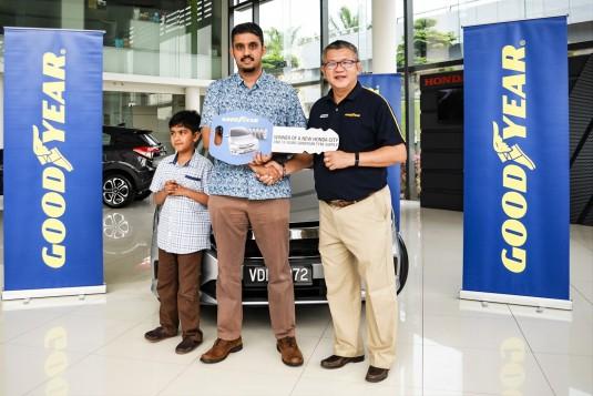 Goodyear Malaysia Customer Wins Honda City