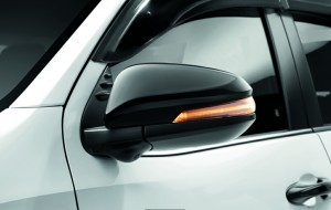 Toyota Hilux Black Edition _Wing Mirror_Malaysia