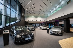 Mercedes-Benz_Autohaus_Showroom_Display Vehicles_Cycle & Carriage Bintang_Malaysia