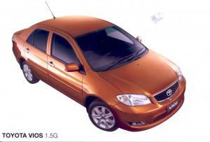 Toyota Vios 2003 - 2005