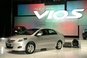 Toyota Vios 2007 - 2013