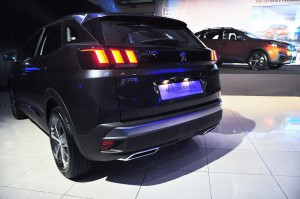 Peugeot 3008 SUV Plus_3D LED Tail Light_Claw Effect_Rear View_Malaysia