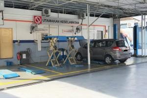 Proton 3S Centre_Autobinee Oriental_Workshop Area_Servicing Bay_Hoist_Penang_Malaysia