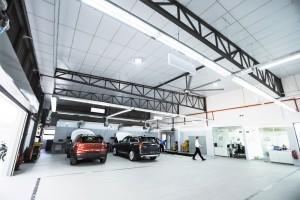 Volvo Car Malaysia_3S Dealership_Service Bays_Automotive