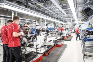 Porsche Taycan_Factory_Production_Stuttgart-Zuffenhausen_Germany