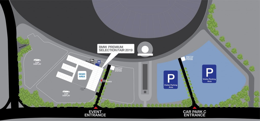 2019 BMW Premium Selection Fair Layout_Bukit Jalil Stadium_Malaysia