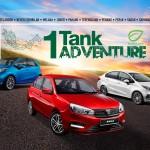 PROTON 1 tank adventure with 2019 Saga, Persona and Iriz