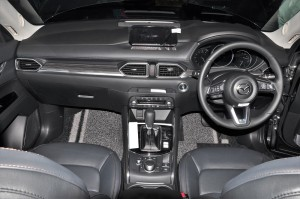 Mazda CX-5_2.5L SKYACTIV-G Turbo_Dashboard