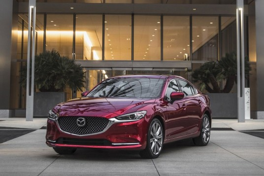 2019 Mazda6 Updated With G-Vectoring Control Plus