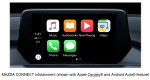 Mazda Connect Infotainment with Apple CarPlay & Android Auto