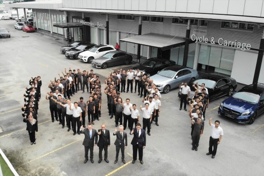 Cycle & Carriage Bintang Achieves High Scores In Daimler AG's Centre Of Competence Certification