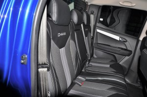 Isuzu D-Max_Blue Power_Leather Fabric Rear Seats_Malaysia