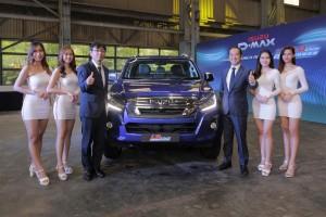Isuzu D-Max Blue Power_Launch_Koji Nakamura & Masayuki Suzuki_Malaysia