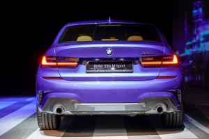 The New BMW 330i M Sport_Rear View_Exhaust
