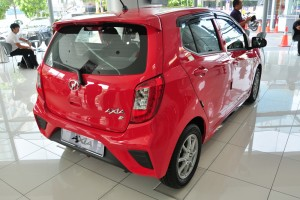 Perodua Axia_2019_Rear View