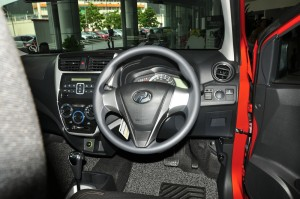 Perodua Axia_STYLE_Interior_Dashboard_Steering Wheel_2019