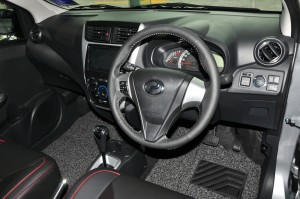 Perodua Axia AV_Steering Wheel_Interior_2019