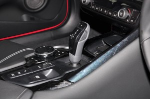 Toyota GR Supra_A90_Gear Lever_Touch Pad Remote Controller_Centre Console_2019