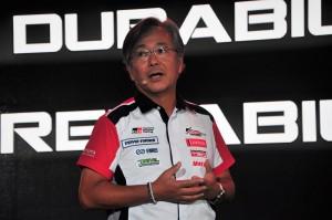 UMW Toyota Motor_Deputy Chairman_Chief Motorsports Officer_Akio Takeyama_Malaysia