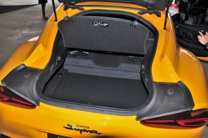 Toyota GR Supra_Boot Space_2019