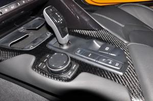 Toyota Supra A90_Centre Console_Gear Lever_Remote Controller