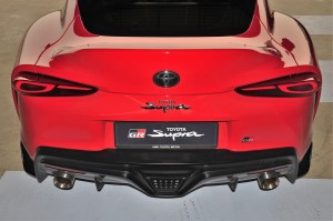 Toyota GR Supra A90_Rear Bumper_LED Tail Lights_Exhaust