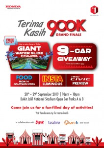 Honda Malaysia Road To 900000th Campaign Grand Finale_Bukit Jalil National Stadium_2019