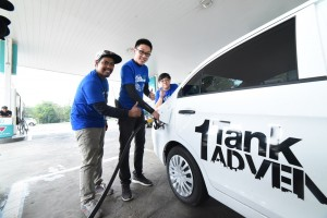 Proton 1 Tank Adventure_Fuel Station_Sabah_Malaysia