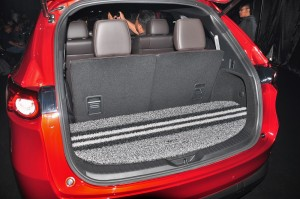 Mazda CX-8_Boot Space_Cargo_2019