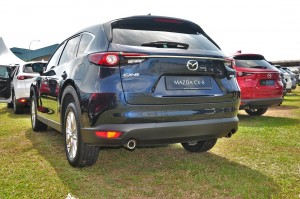 Mazda CX-8_Rear View_2019