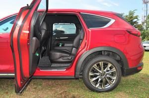 Mazda CX-8 High_Rear Door Opening