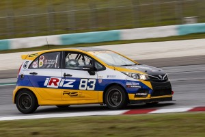 Team Proton R3 Proton Iriz in the 2019 Malaysia Championship Series Race