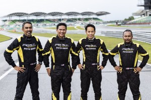 The Racers for Team Proton R3 in the 2019 Malaysia Championship Series