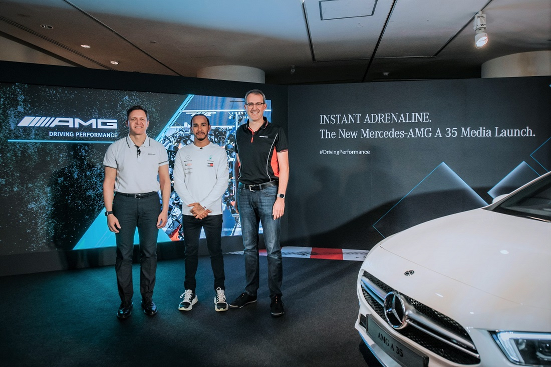 Mercedes Benz Malaysia Launches Mercedes Amg A 35 4matic Sedan With Estimated Price Of Rm349k Autoworld Com My