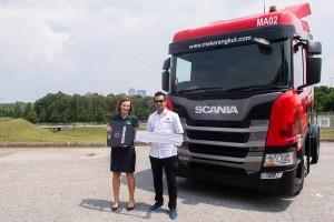Scania_Mekar Angkut Sdn Bhd (Konsortium E-Mutiara group of companies) Scania G360A4X2NA New Truck handover_Malaysia