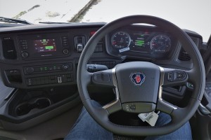 Scania_G Series_New Truck Generation_Cabin_Steering Wheel_Interior