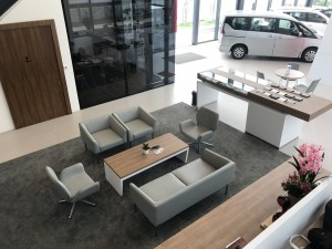Nikaijaya Showroom with New Nissan Retail Concept_Café-styled Modern Customer Lounge