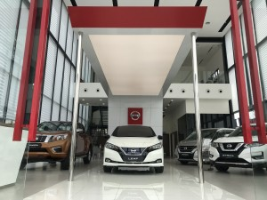 New Nissan LEAF at the NRC Nikaijaya Nissan Showroom_Interior