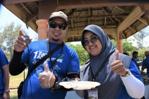 Proton 1 Tank Adventure_Final_Participants_Food Challenge_Cincalok_Bosou_Tempoyak